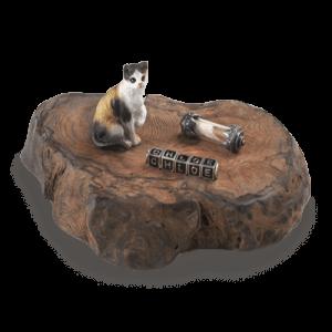 Small Cat Memorial Keepsake