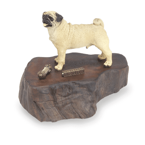 Dog Memorial Keepsake large figurine image
